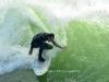 surfer kneeling