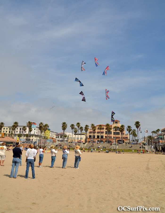 Huntington Beach Kite Party