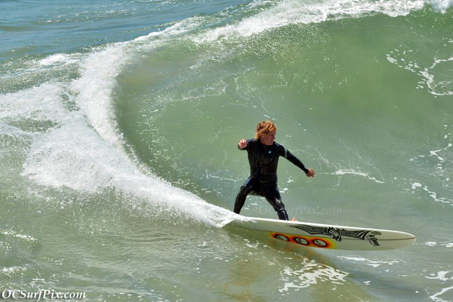 Huntington Beach surfing
