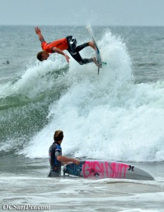 Surfers at US Open 2011