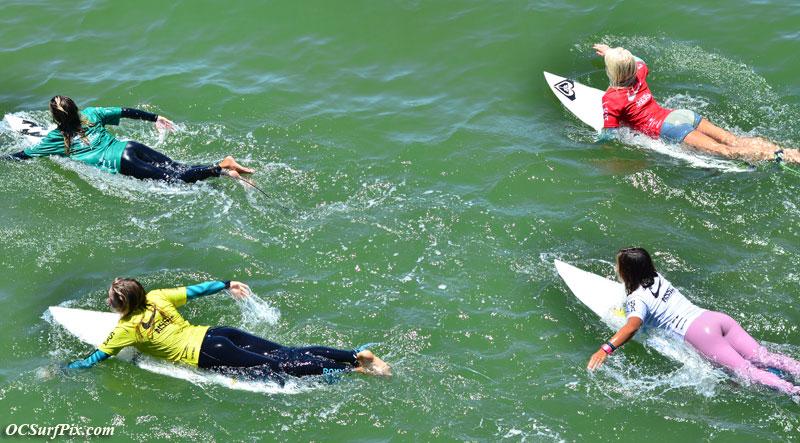 NSSA surfers