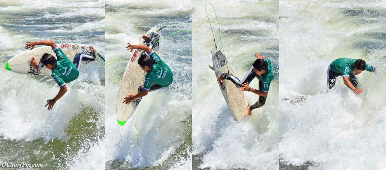 surfing multiple shots