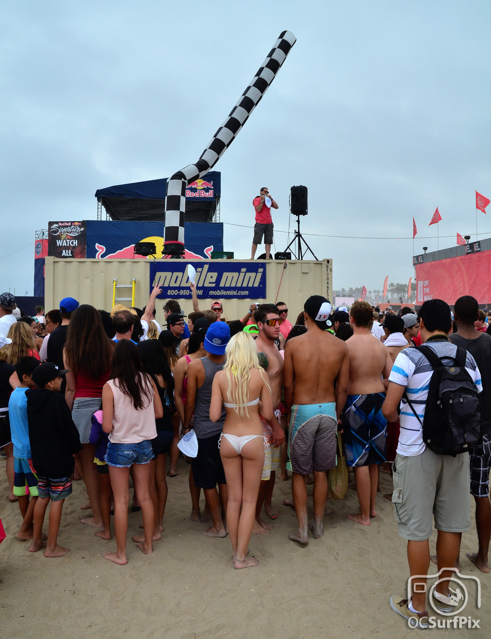 at the US Open of Surfing