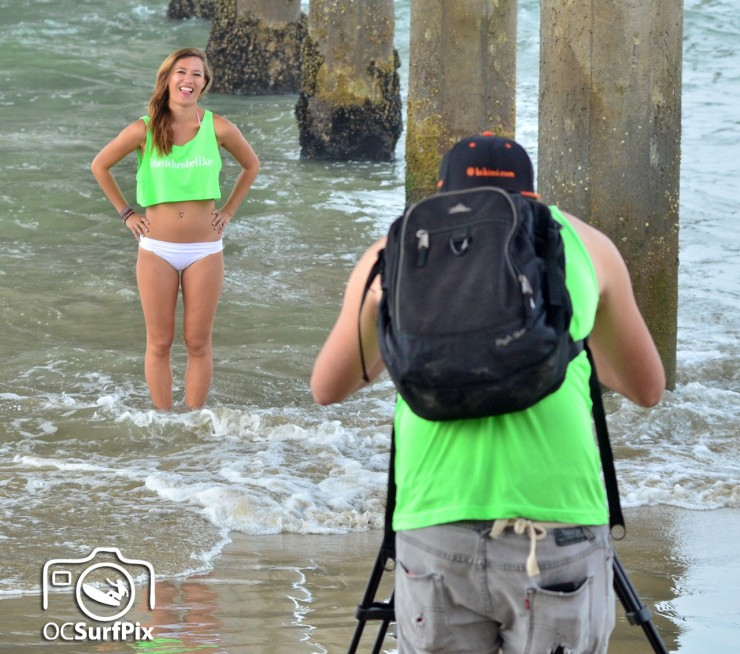 US Open Surfing photo shoot
